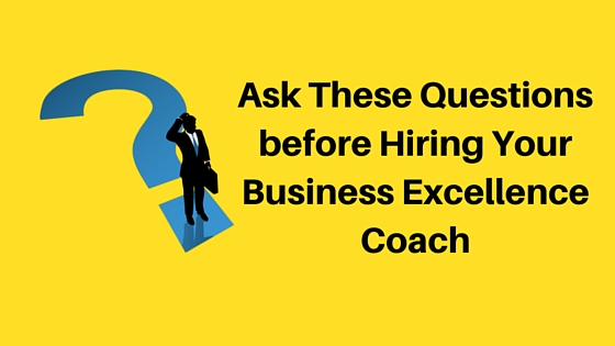 Business Excellence Coach India