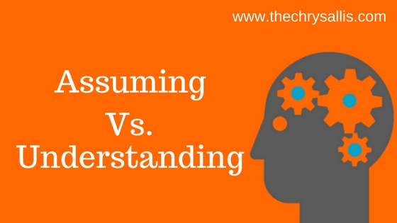 Assuming vs. Understanding