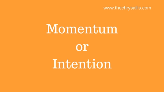 Momentum or Intention